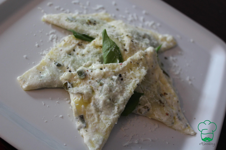 Tortellini ai spinaci