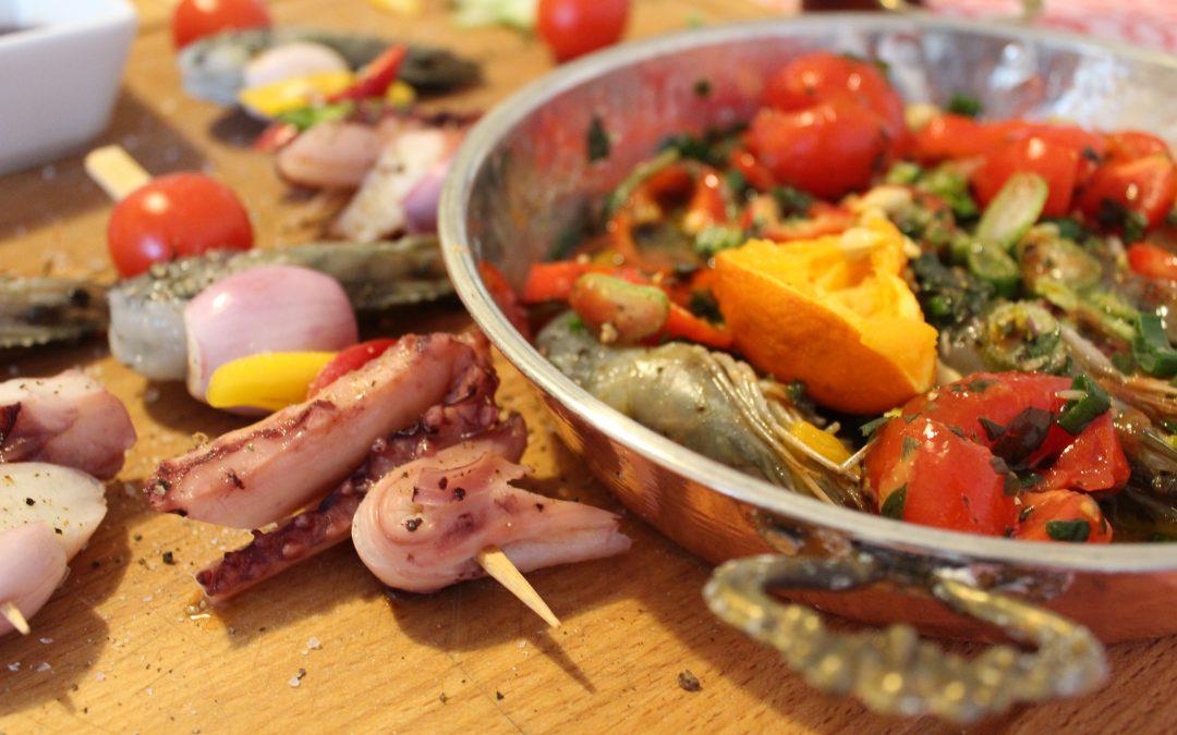 10 ingrediente perfecte pentru fructe de mare